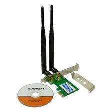 X-MEDIA XM-WN3800D 300Mbps Wireless PCI Express (PCIe) WiFi Network Adapter