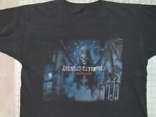 A7X Nightmare After Xmas 2011 Tour T-SHIRT XL 2-Sided Avenged  Sevenfold Concert