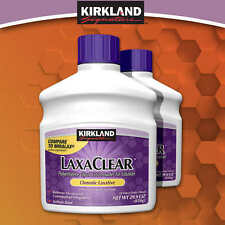 Kirkland LaxaClear 1700 Grams 2 Bottles 50 Doses Each 3 month supply FREE SHIP