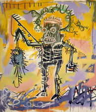 Jean-Michel Basquiat  Fishing  HD print on canvas huge wall picture