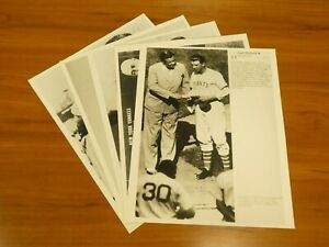Lot of 5 Different NY Yankees 11x14 Glossy Photos