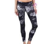 Tuff Athletics NEW Active Yoga Legging Smoke Print Black Ultraviolet PANTS 1x