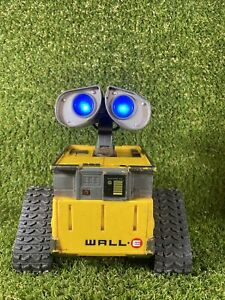 """Interactive Electronic Wall-E Talking Robot Disney Think Way Toy 7"""" NO REMOTE"""