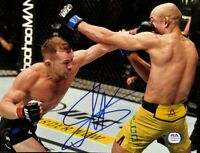 Petr Yan Signed 8x10 UFC Fight Photo PSA/DNA ITP