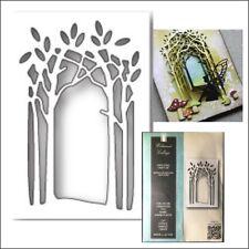 Wildwood Collage Frame metal die Memory Box cutting dies 99732 trees frames leaf