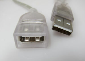 USB Extension Data Cable 2.0 A Male to A Female 0.9M (90cm)  Length for Mac & P