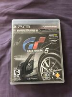 Gran Turismo 5 XL Edition Sony Playstation 3 PS3 COMPLETE 2010