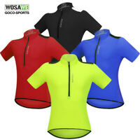 Men Cycling Jersey Short Sleeve Bike Shirt Anti-sweat Bicycle Breathable Riding