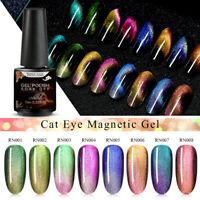 RBAN NAIL 5D Chameleon Magnetic Gel Polish Cat Eye UV Gel Soak Off Nail Art Gel