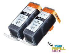2Pk Compatible PGI-220BK Ink Cartridge for Canon Pixma iP4600 MP980 MP990 MX860