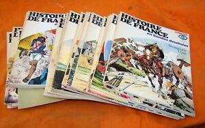 HISTOIRE DE FRANCE EN BD LAROUSSE COMPLET EN 24 VOLUMES
