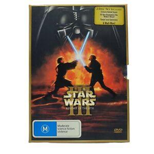 Star Wars: Episode III - Revenge of the Sith (DVD, Region 4, 2005) 2-Disc Set