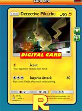 Detective Pikachu (FOIL) - for Pokemon TCG Online (ptcgo in Game Card)