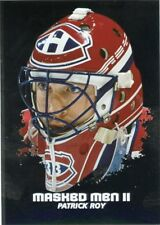 09/10 BETWEEN THE PIPES MASKED MEN II MASK SILVER #MM-21 PATRICK ROY *44356