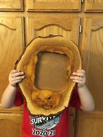 Vintage Wood Slice Picture Frame 8x10 Rustic Decor Man Cave