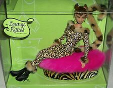 Lounge Kitties Leopard costume boots cat doll powder puff couch chair Xmas gay