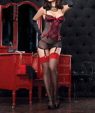 One Plus Size Sexy Babydoll Lingerie Red Black 10 12 14 16 18 20 22 24 26  RBM