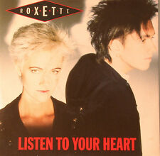 "ROXETTE - Listen To Your Heart & (I Could Never) Give You Up 7 "" Single (F1092)"