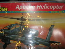 Revell Us Army Apache Combat Helo-1/72 Scale-Snap Tite-No Glue Or Painting
