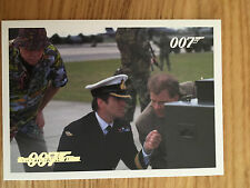 James Bond Archives 2014 Gold Foil Parallel Card 046 060/125 Tomorrow Never Dies