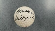 Gardner Dickinson Signed Autograph Golf Ball  JSA Full Letter of Authenticated