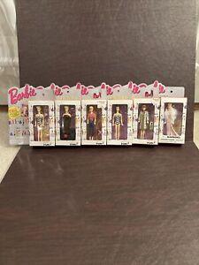 Barbie Keychain Lot Of 6