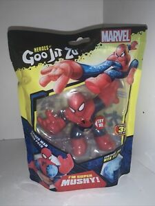 Marvel Heroes Of Goo Jit Zu Spiderman Stretch Action Figure Toy