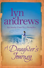 A Daughter's Journey By Lyn Andrews ~ A Paperback Book With Free P&P UK