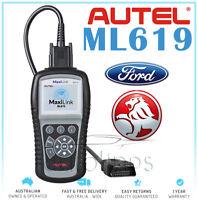 AUTEL AL619/ML619 OBD2 ABS AIRBAG SRS Diagnostic Car Scanner Fault Code Reader