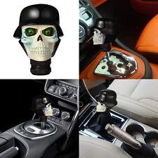 Skull Car Gear Knobs Lever Shift Knob Manual Trans Handle Head Resin Black