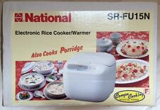 National Electric Rice Cooker & Warmer - SR-FU15N - New - 8 Cup - Made in Japan