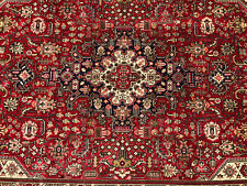 New listing 7x10 Red Vintage Wool Rug Hand-Knotted oriental Handmade antique carpet 6x9 7x9