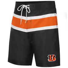 Cincinnati Bengals NFL Men's Swim Boardshorts, Size XL, New With Tags