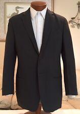 Giorgio Armani Black Label Olive Blazer Wool Blend 2 Btn Sz 38 R Italy MINT!