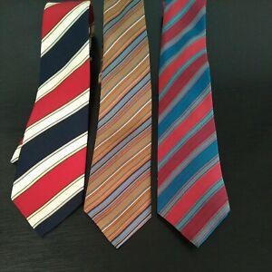 Vintage Bundle st Michael Marks Ties X3 silk