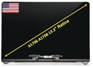 New Macbook Pro A1706 A1708 13'' 2016 2017 LCD Assembly Screen Space Gray