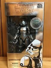 Hasbro Star Wars The Black Series Carbonized Collection Stormtrooper 6 inch...