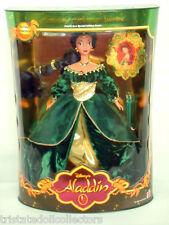 HTF Disney's ALADDIN HOLIDAY PRINCESS JASMINE 1999 Mattel #4 In Serie_22092_NRFB