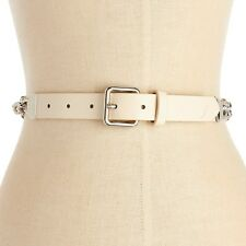 Nautica Women's Chain Accent Belt Camel Size Large New
