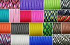 4mm Paracord 550 Bushcraft Survival Mil-Spec Type III 7 Strands Cord Bracelet <br/> Free Shipping UK Stocklist 83,000+ Sold on listing SALE