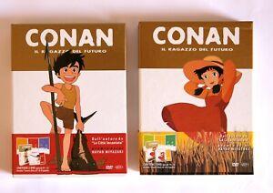 CONAN RAGAZZO DEL FUTURO DVD Miyazaki edizione limitata Box Dynit 2009