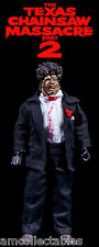 "NECA THE TEXAS CHAINSAW MASSACRE PART II - 8""inch RETRO CLOTHED LEATHERFACE  NEU"
