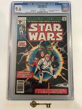 Star Wars #1 2 3 4 5 Lot CGC 9.6 - 1st Luke, Leia, Vader Bronze Age Mega Key Lot