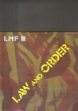 LARRY MARTIN FACTORY - law and order LP