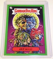Garbage Pail Kids 2019 Valentine's Day is Gross GREEN JAY Decay 8b GPK