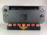 The Legend Of Zelda Nintendo Switch Game Cartridge Holder For Dock Simple Setup