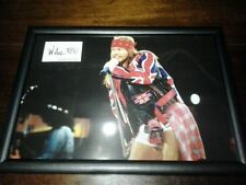 Axl Rose Guns N' Roses A3 size framed poster with facsimile autograph gift idea