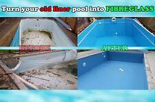 More details for turn liner swimming pool into fibreglass refurbishment renovation restoration