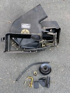 """50"""" John Deere Rear Catcher Blowers Head Unit PWRFLO 50MOW and some mounting ..."""
