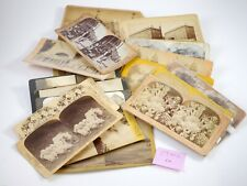 29 Stereoviews Lot Misc Scenes - Ra
